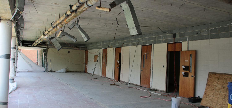 Fisher Building Renovation
